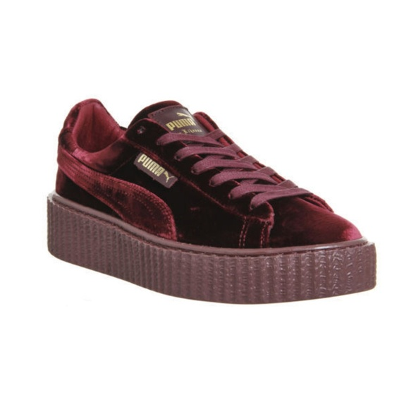 best sneakers 1837f 20a78 Puma x FENTY by Rihanna, Burgundy, Size 8.5 NEW